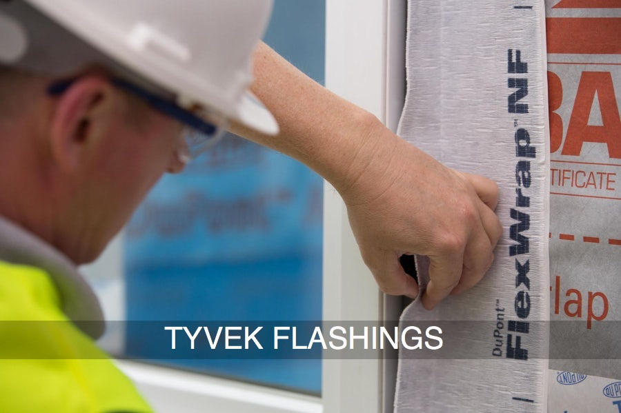 Tyvek Flashings